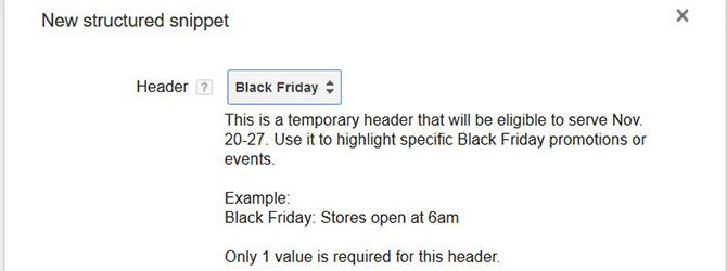 structured-snippet-black-friday