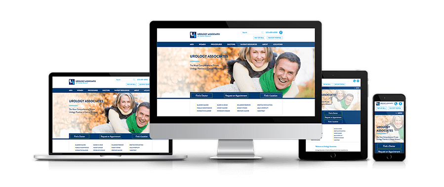 The physicians of Urology Associates of Central Missouri came to us seeking a new website that would provide a wide range of resources to their current and potential patients. The result was a modern, yet functional resource bank of multiple specialties, procedures, educational videos, and many more helpful resources.