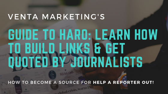Guide to HARO - How to Build LInks